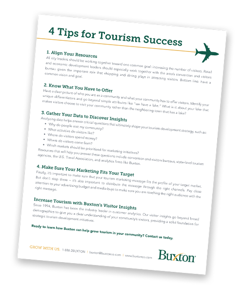 4 Tips for Tourism Success