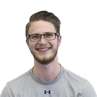 Headshot of Younger Man who is an employee at Customer Analytics Company Buxton