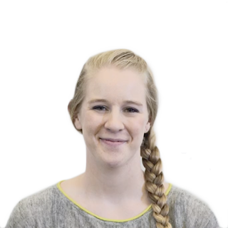Headshot of Younger Women who is an employee at Customer Analytics Company Buxton